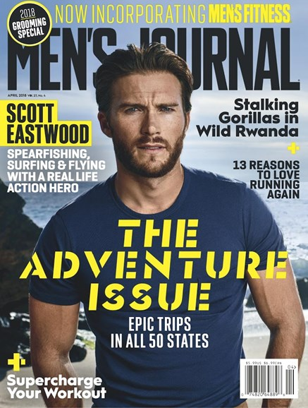 Men's Journal Cover - 4/1/2018