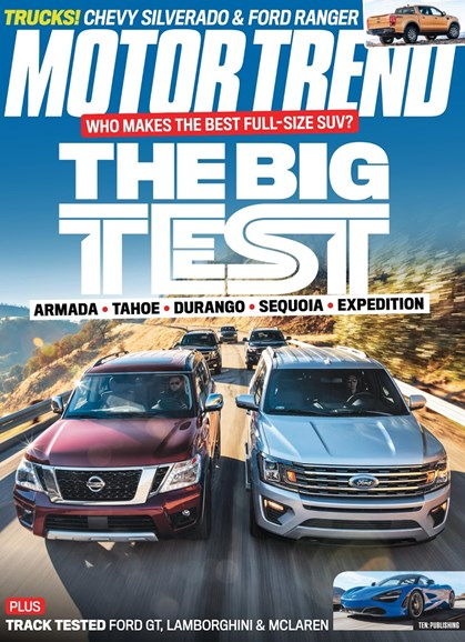 Motor Trend Cover - 4/1/2018
