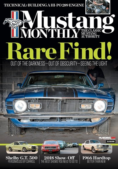 Mustang Monthly Cover - 4/1/2018