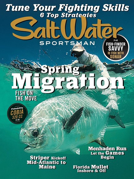 Salt Water Sportsman Cover - 3/1/2018