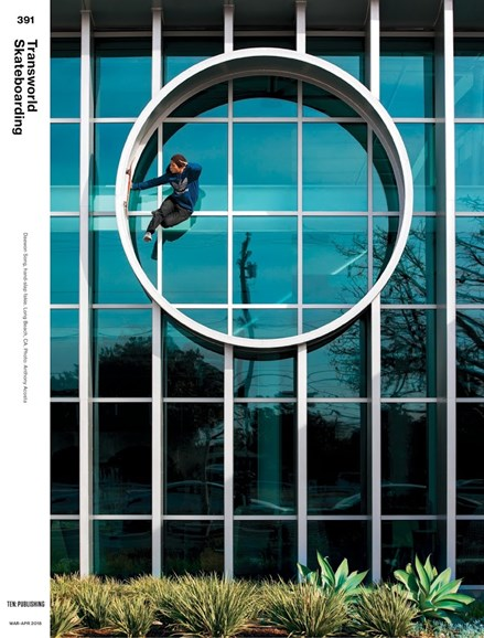 Transworld SKATEboarding Cover - 3/1/2018