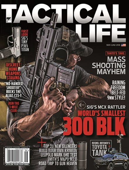Tactical Life Cover - 5/1/2018