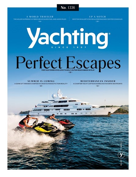 Yachting Cover - 4/1/2018