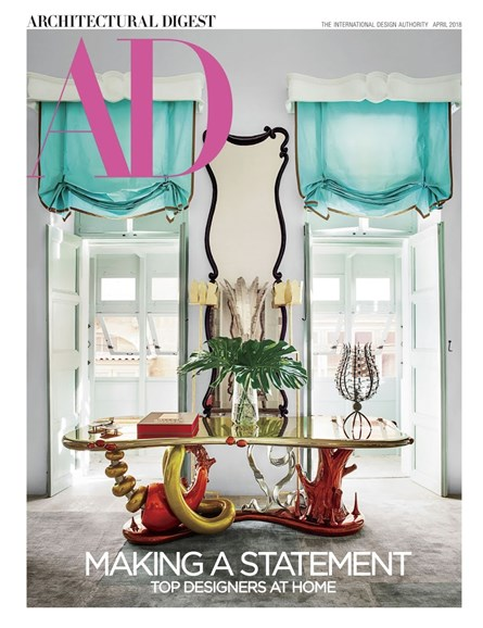 Architectural Digest Cover - 4/1/2018