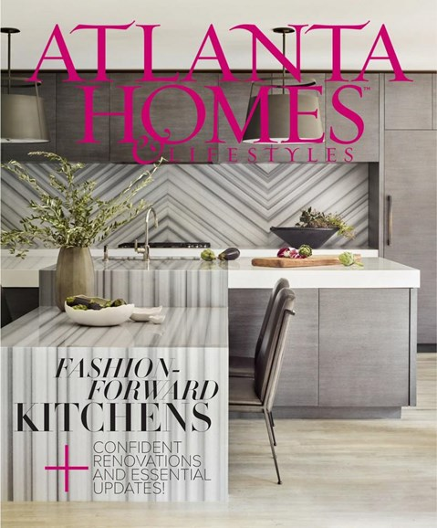 Atlanta Homes & Lifestyles Cover - 1/1/2018