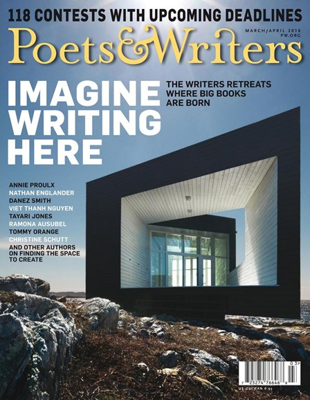 Poets & Writers Cover - 3/1/2018