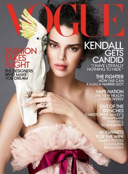 Vogue Cover - 4/1/2018