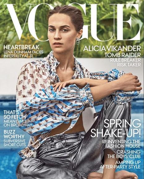 Vogue Cover - 3/1/2018