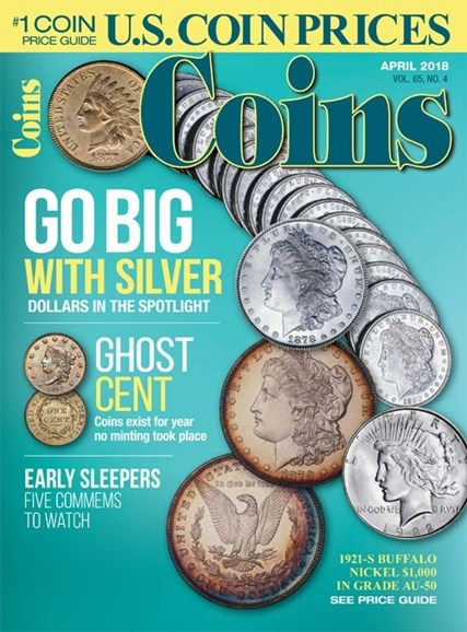 Coins Cover - 4/1/2018