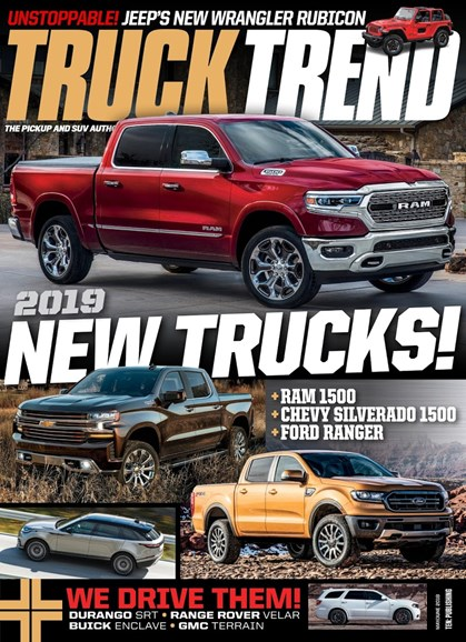 Truck Trend Cover - 5/1/2018
