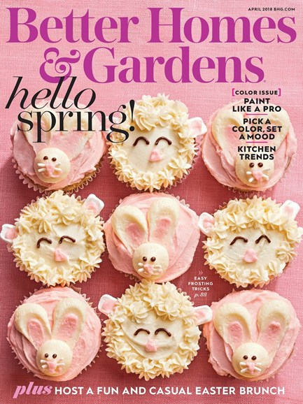 Better Homes & Gardens Cover - 4/1/2018