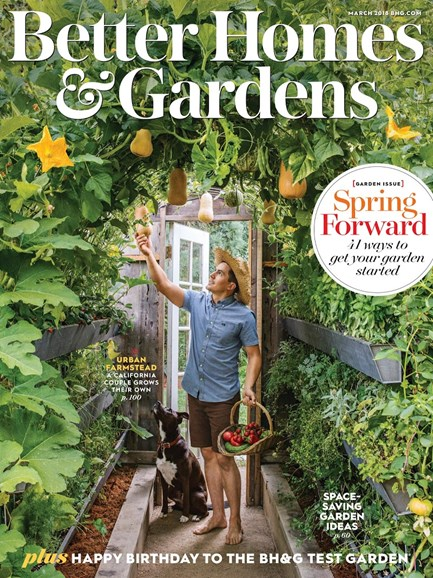 Better Homes & Gardens Cover - 3/1/2018