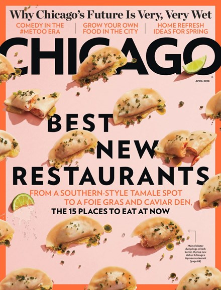 Chicago Magazine Cover - 4/1/2018