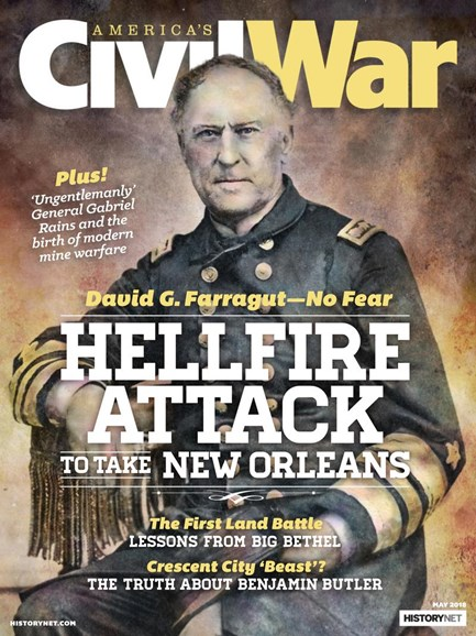 America's Civil War Cover - 5/1/2018