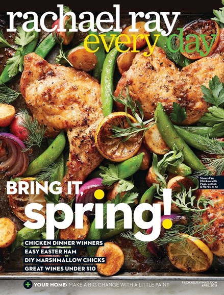 Rachael Ray Every Day Cover - 4/1/2018