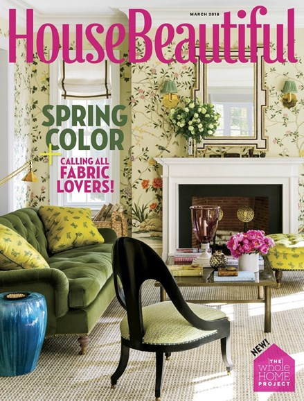 House Beautiful Cover - 3/1/2018