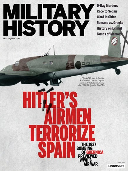 Military History Cover - 5/1/2018