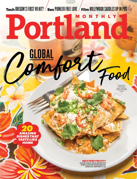 Portland Monthly Cover - 3/1/2018