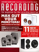 Recording Magazine 3/1/2018