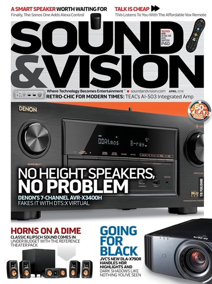 Sound & Vision Cover - 4/1/2018