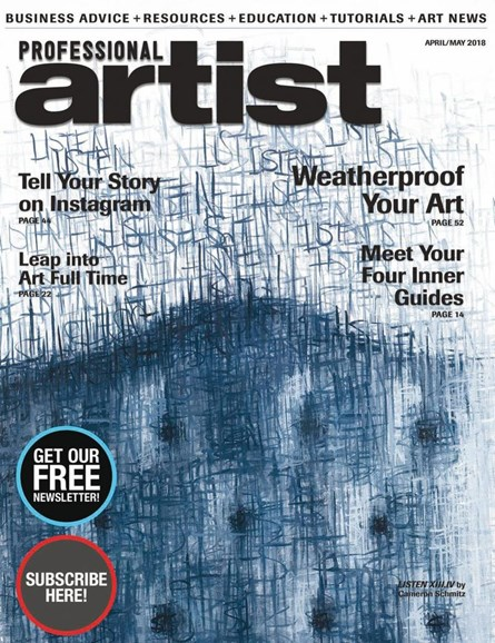 Professional Artist Cover - 4/1/2018