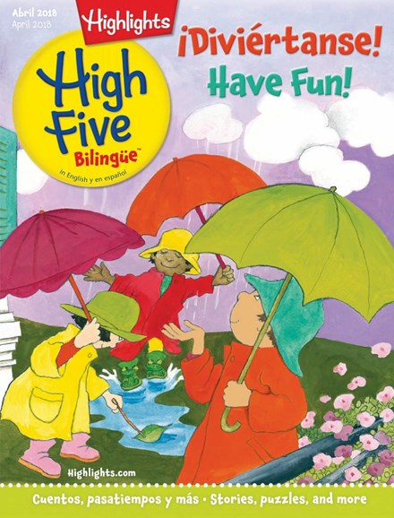 Highlights High Five Bilingue Cover - 4/1/2018