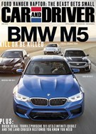 Car And Driver Magazine 4/1/2018