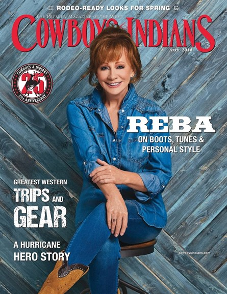 Cowboys & Indians Cover - 4/1/2018