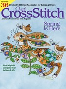 Just Cross Stitch Magazine 4/1/2018