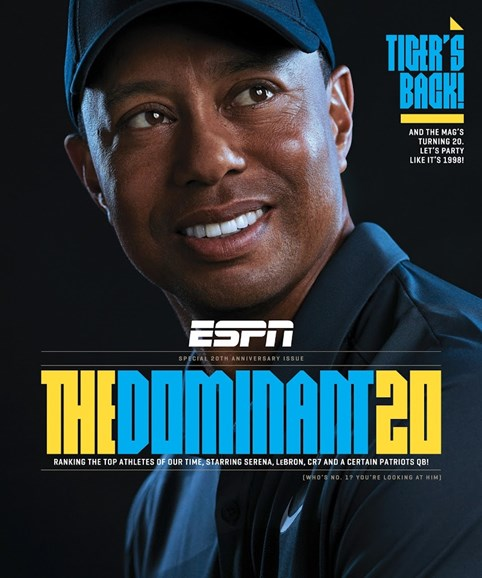 ESPN The Magazine Cover - 4/2/2018