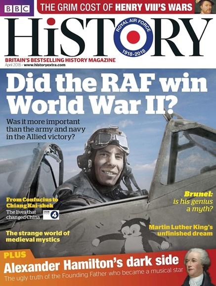 BBC History Cover - 4/1/2018
