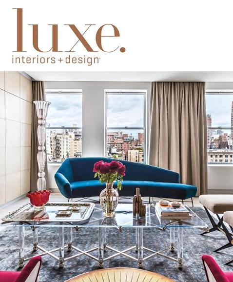 Luxe Interiors & Design Cover - 3/1/2018