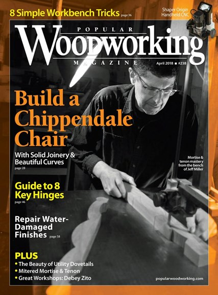 Popular Woodworking Cover - 4/1/2018