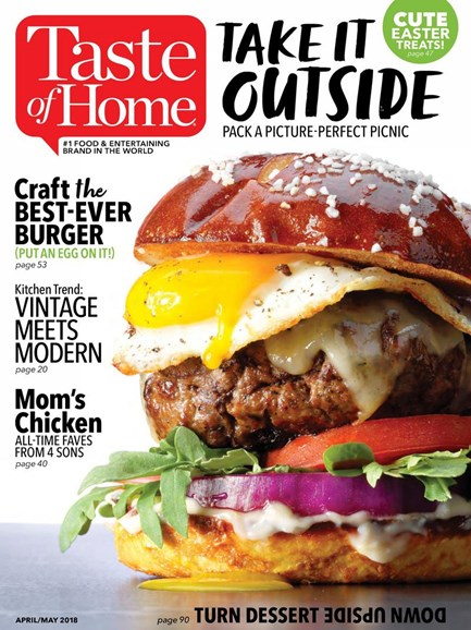Taste of Home Cover - 4/1/2018