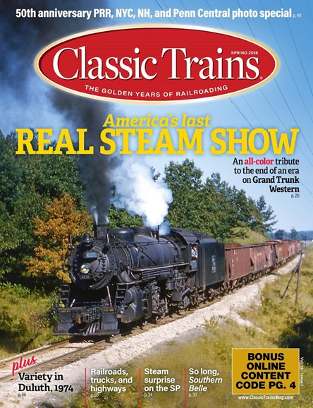Classic Trains Cover - 3/1/2018