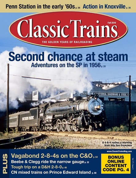 Classic Trains Cover - 9/1/2016
