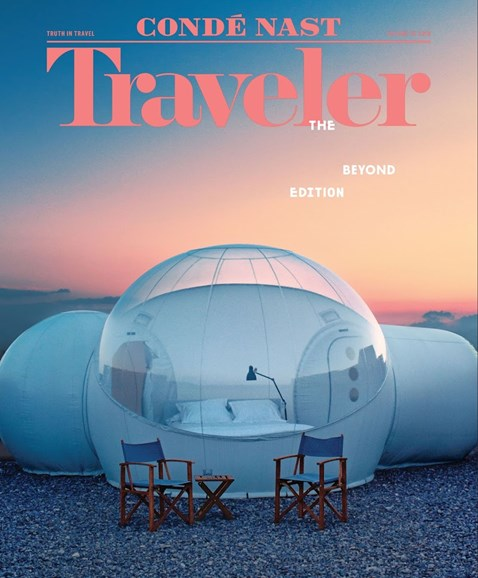 Condé Nast Traveler Cover - 3/1/2018
