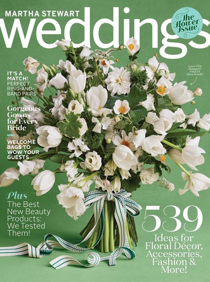 Martha Stewart Weddings Cover - 3/1/2018