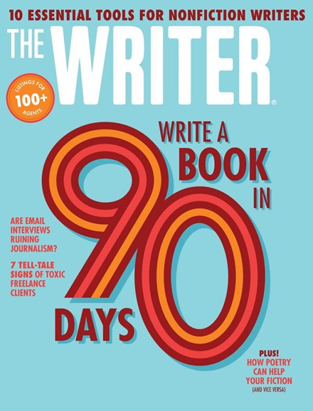 The Writer Cover - 4/1/2018
