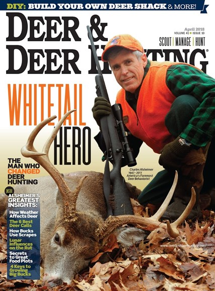 Deer & Deer Hunting Cover - 4/1/2018