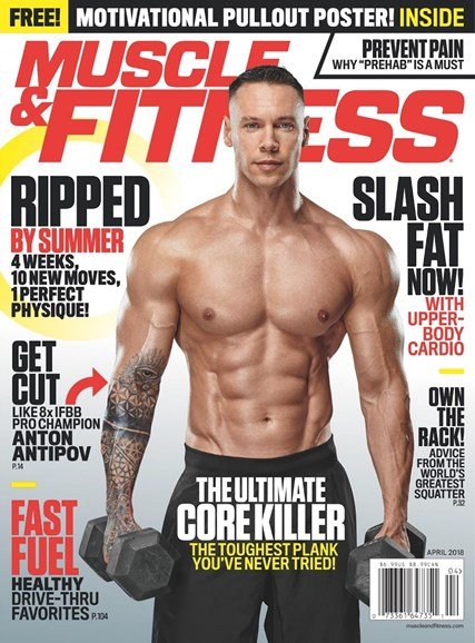 Muscle & Fitness Cover - 4/1/2018