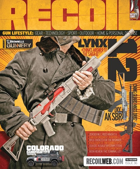 Recoil Cover - 5/1/2018