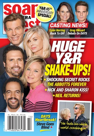 Soap Opera Digest Cover - 4/2/2018