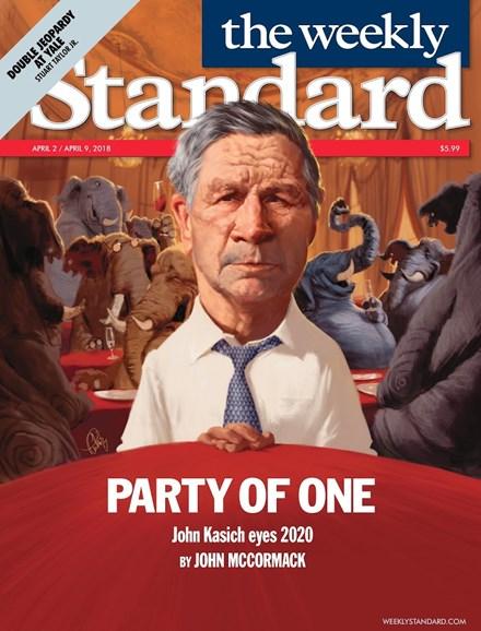 Washington Examiner Cover - 4/2/2018