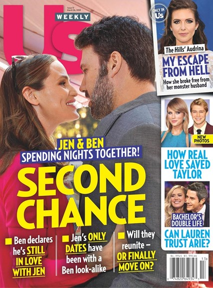 Us Weekly Cover - 3/26/2018