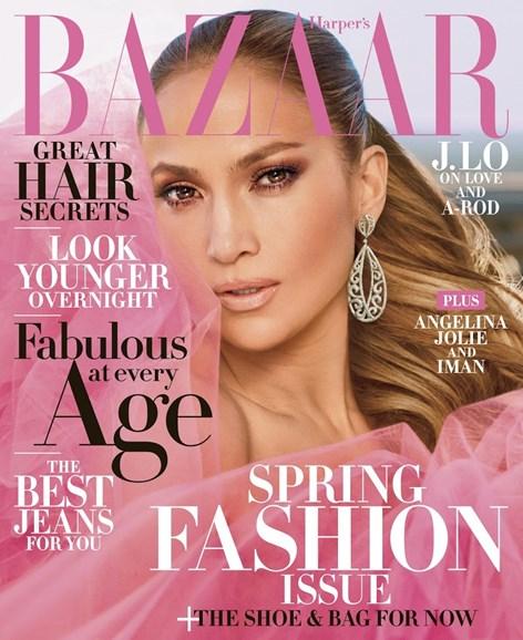 Harper's Bazaar Cover - 4/1/2018