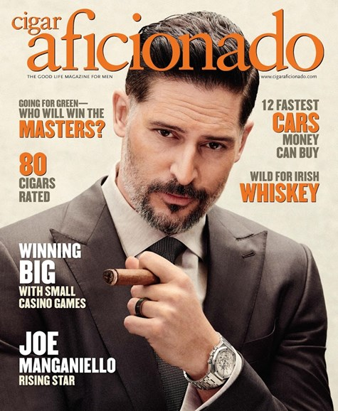 Cigar Aficionado Cover - 3/1/2018
