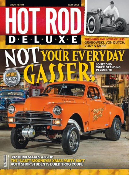 Hot Rod Deluxe Cover - 5/1/2018