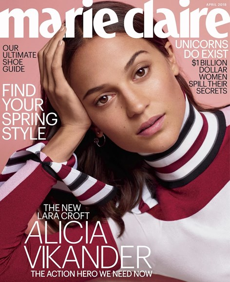 Marie Claire Cover - 4/1/2018