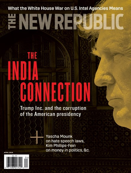 The New Republic Cover - 4/1/2018